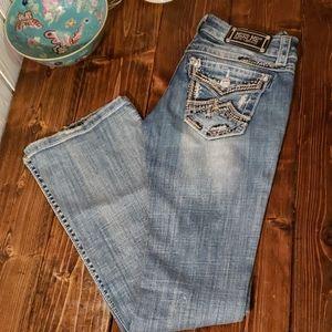 miss me jeans boot cut 25x31